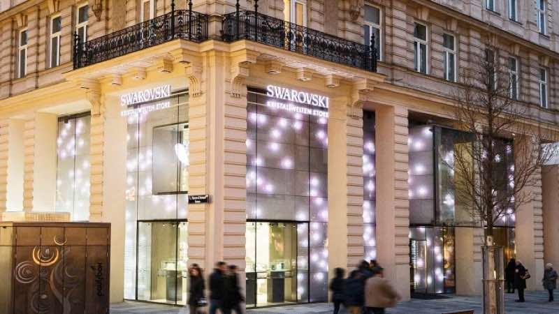 Swarovski Crystal Worlds Store in Vienna