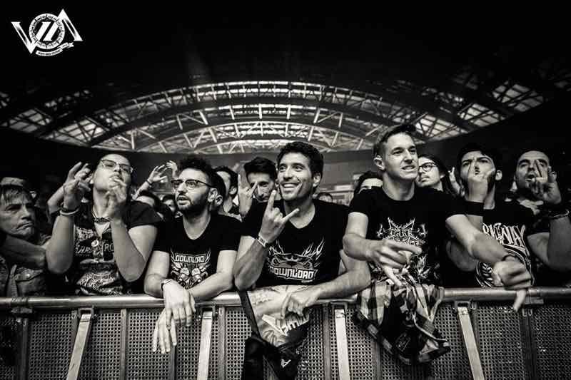 Fans enjoying at VOA Heavy Rock Festival
