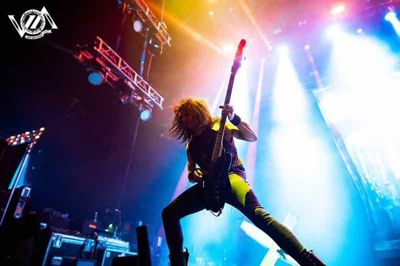 Moonspell performing at VOA Heavy Rock Festival