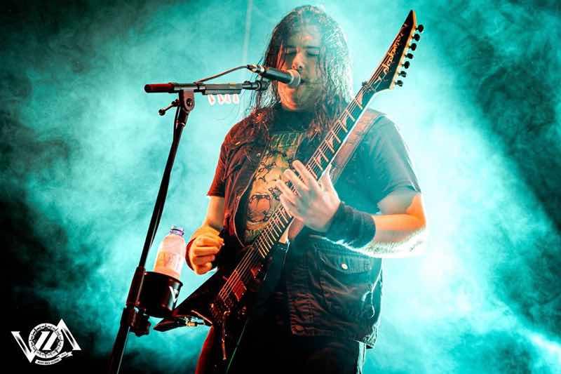 Trivium performing at VOA Heavy Rock Festival