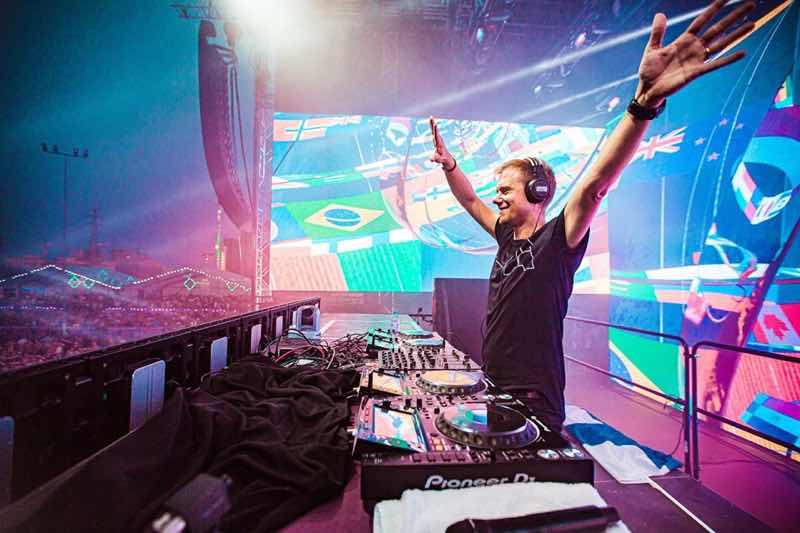 Armin van Buuren performing at Weekend Festival Finland