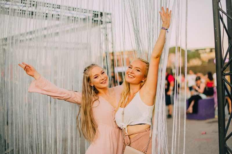 Fans enjoying at Weekend Festival Finland