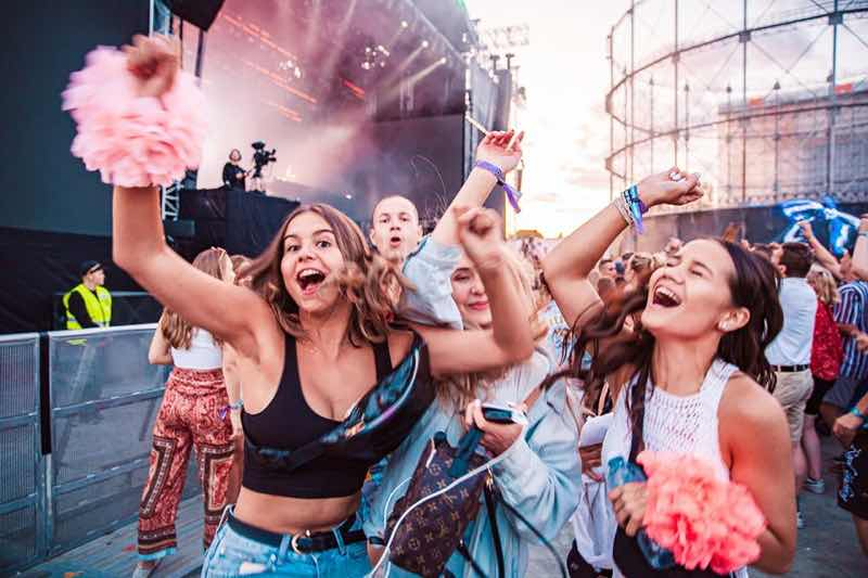 Fans excited at Weekend Festival Finland