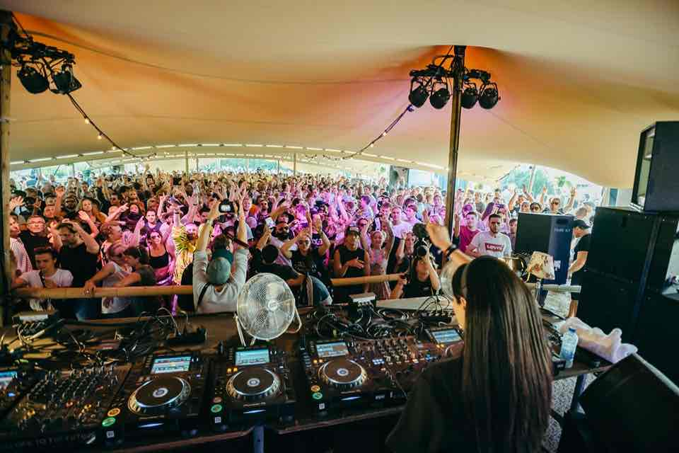 Performing at Welcome to the Future Festival