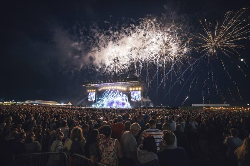 Celebrations at WonderHall Festival
