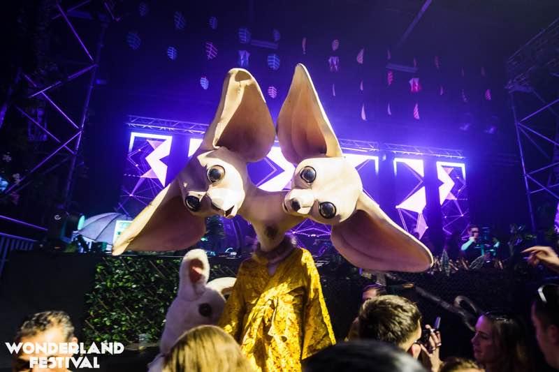 Amazing costume at Wonderland Festival Weekender