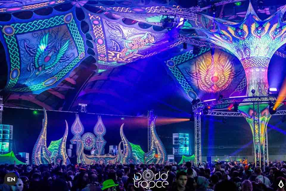 Colours at World Trance Winter Festival