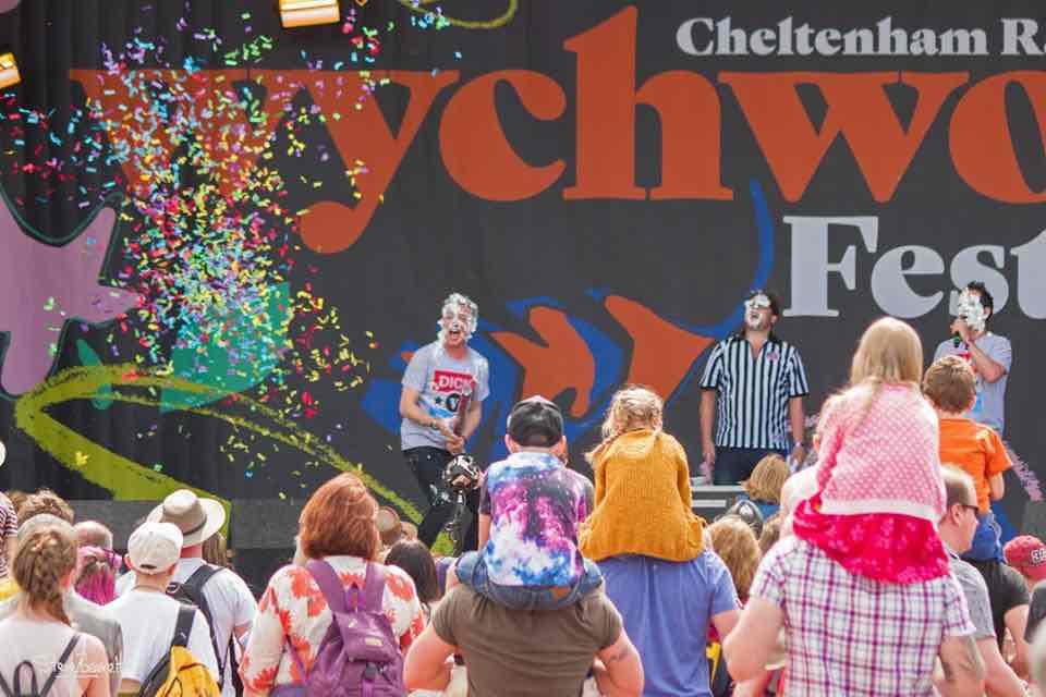 Fun games at Wychwood Festival