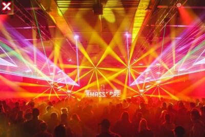 Dream lights show at X-Massacre Festival