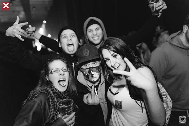fans at X-Massacre Festival