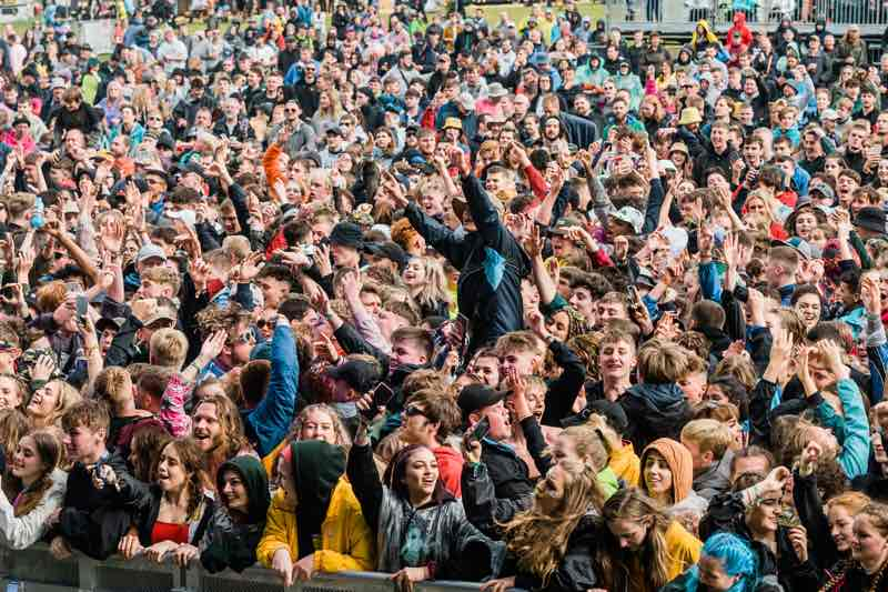Fans excited at Y Not Festival