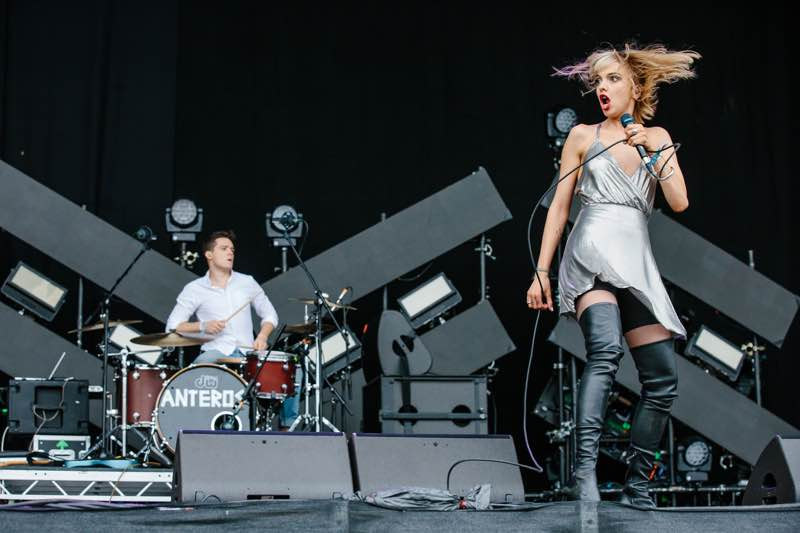 Performing at Y Not Festival