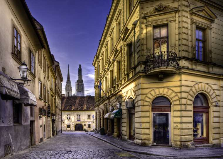 Old Town in Zagreb