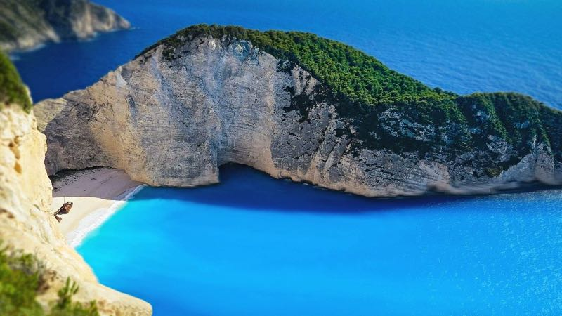 Navagio Beach Destination in Zakynthos Greece